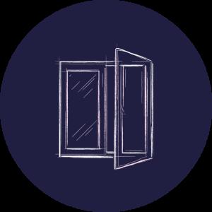 Fensterreinigung: Reinigung von Fenstern, Rahmen und Glasfronten